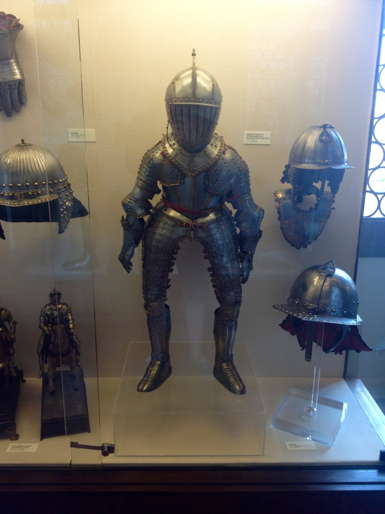 Child's suit of armour, that is crazy!