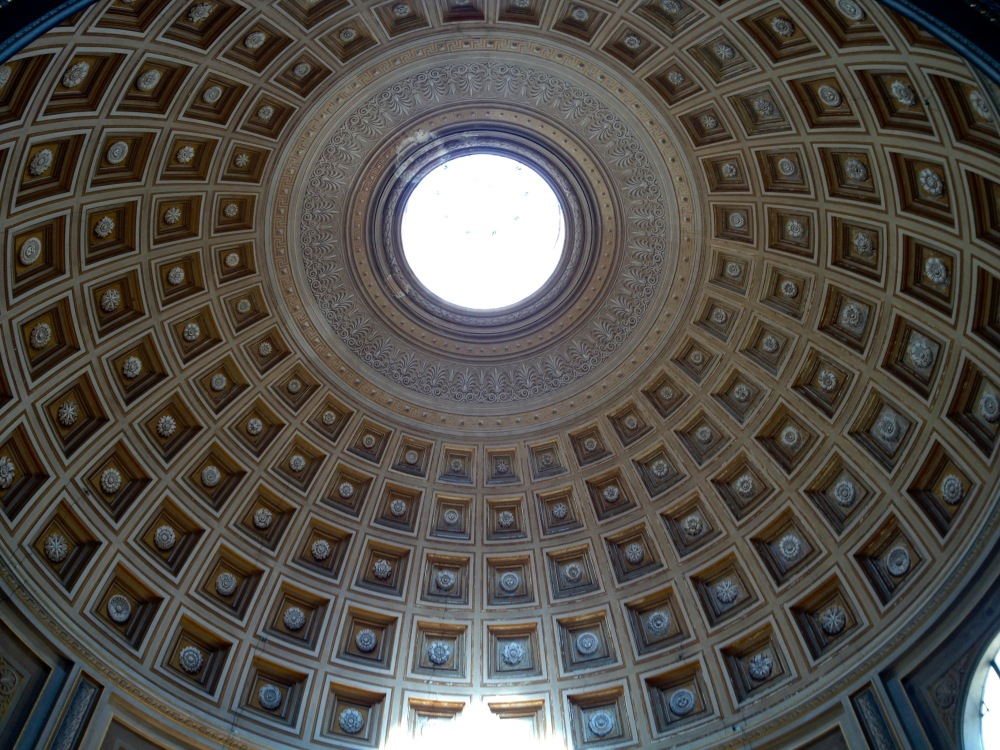 You may think that this is the pantheon, but no, vatican!