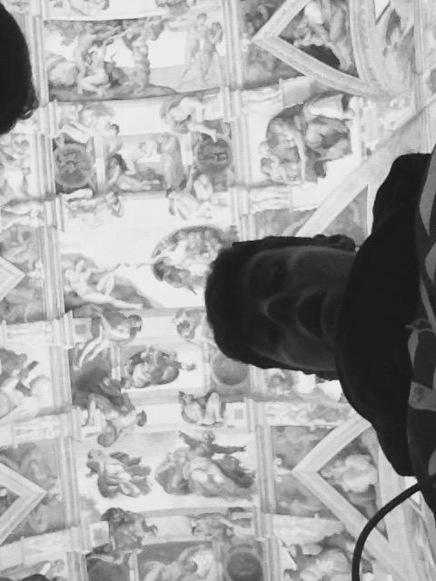 Sistine Chapel Selfie
