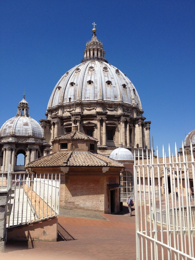 The view from the roof of St Peters