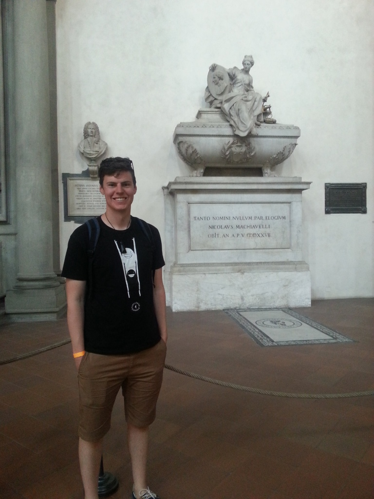 Machiavelli's tomb for the political science geeks out there