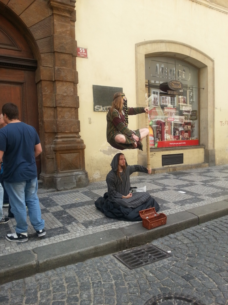 Some local street performers