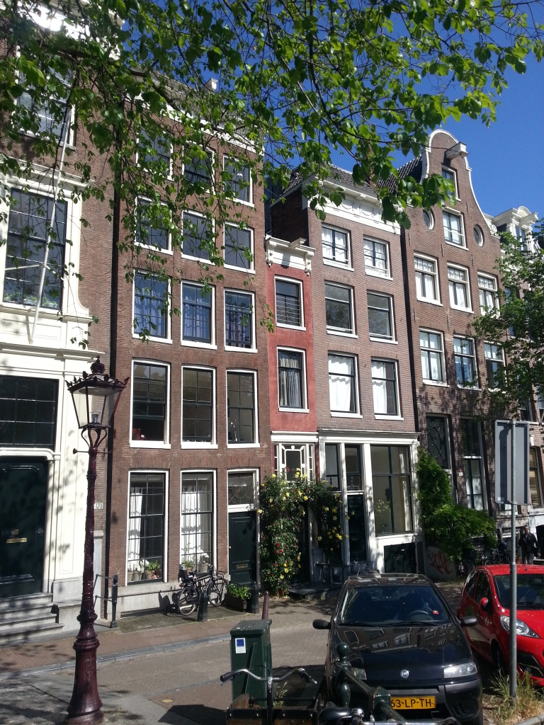 Amsterdam used to have a tax based on the width of your house...this guy is winning...the thinest house in Amsterdam,