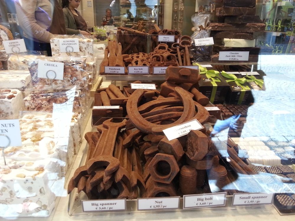 Belgian Chocolate, yes please! (check out the different forms it comes in!)
