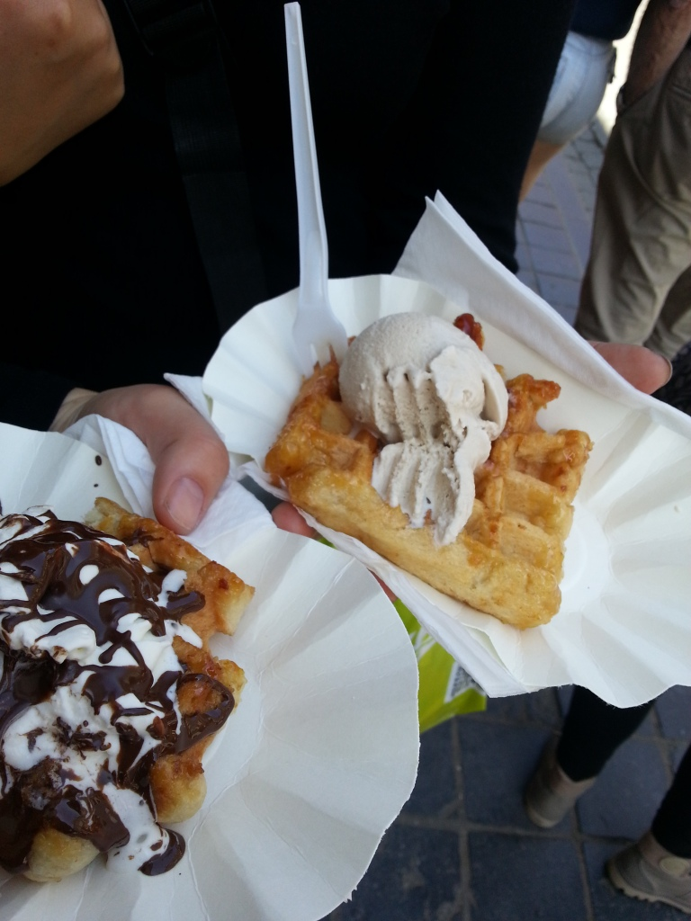 Belgian Waffles, sign us up!