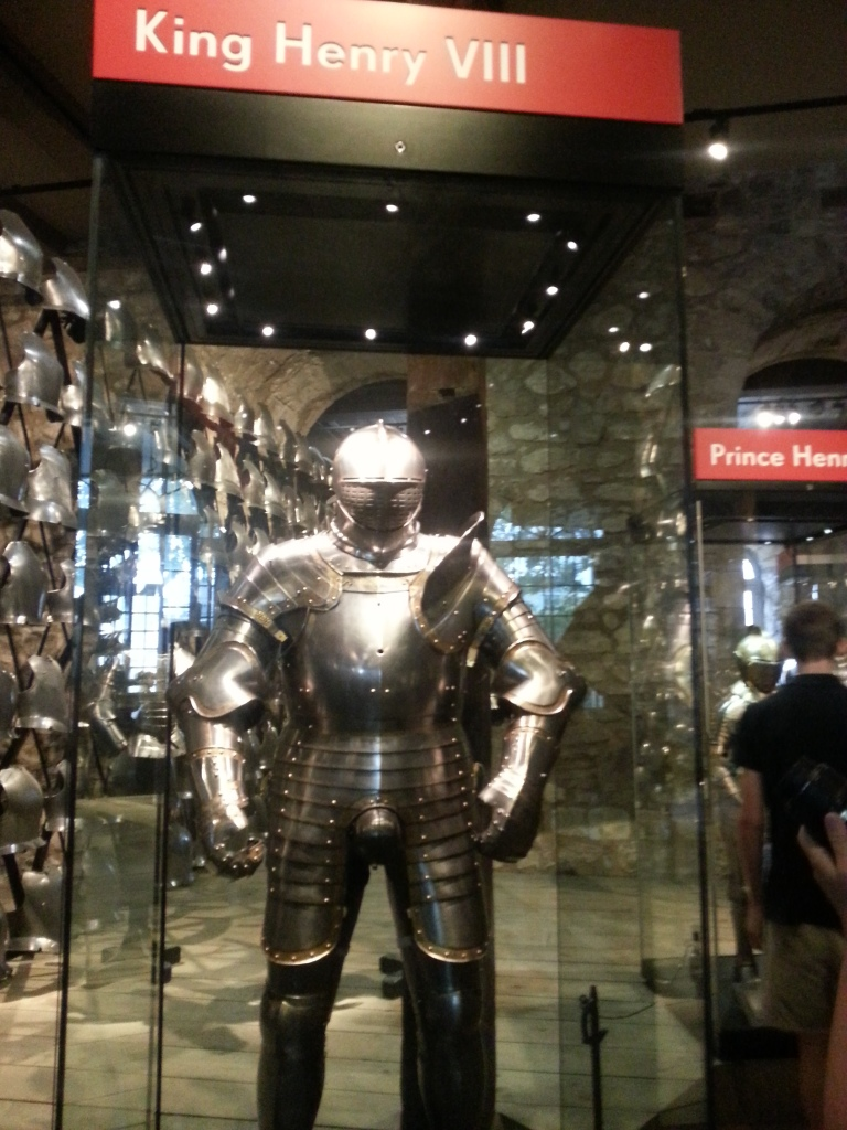 King Henry the 8th Armour, he was a big man...