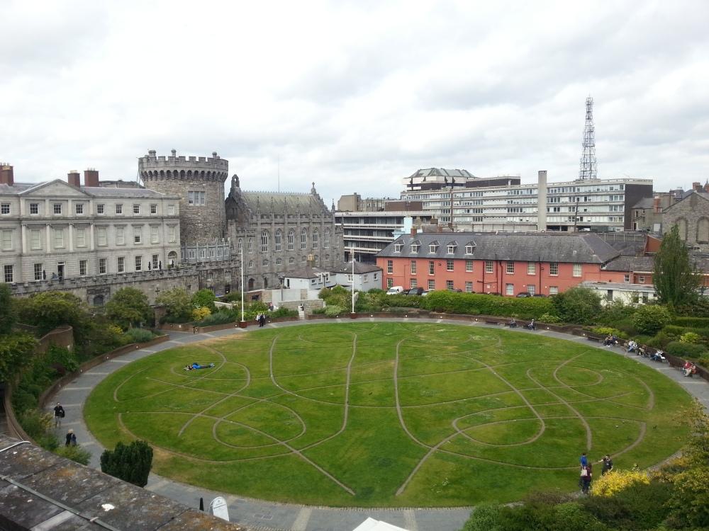 Dublin Castle & Dubh Linn Gardens