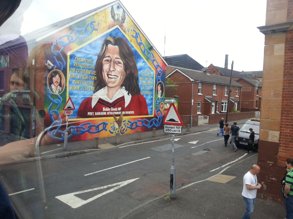 Art, a historical reminder of the Troubles