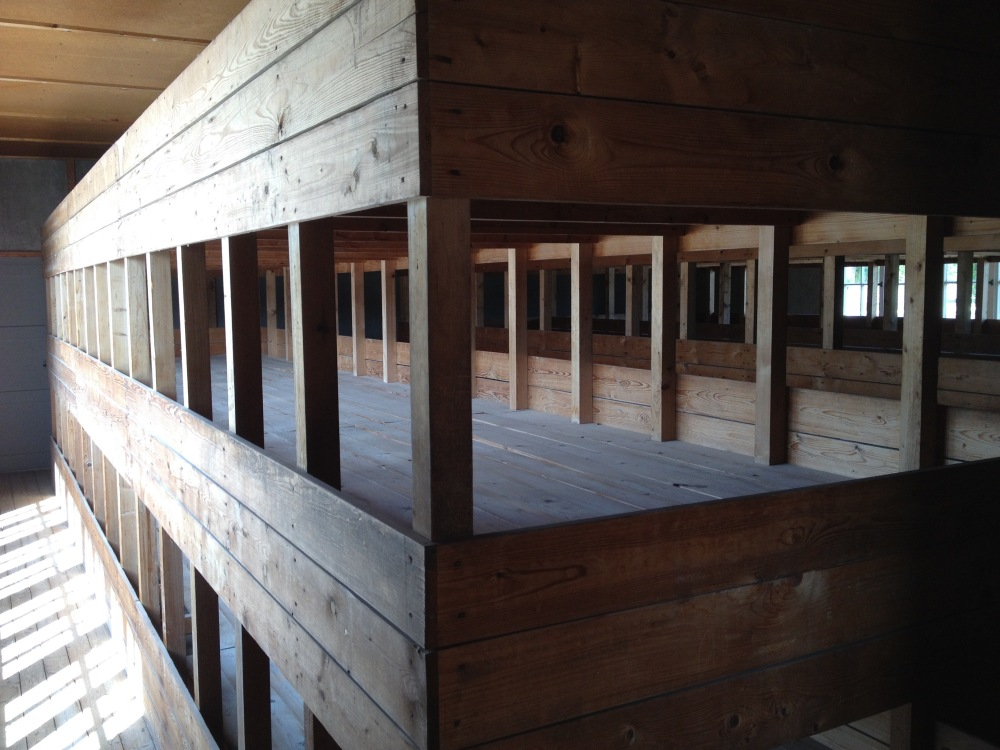 Concentration Camp Bunks at their worst