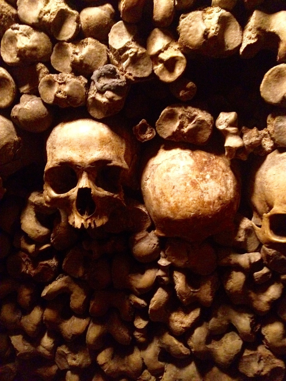 Image result for catacombs and pere lachaise on a map