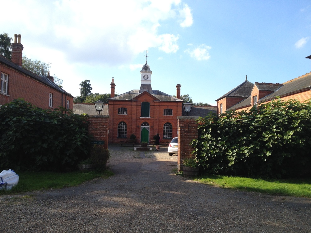 Dolphin Court, the former stables.