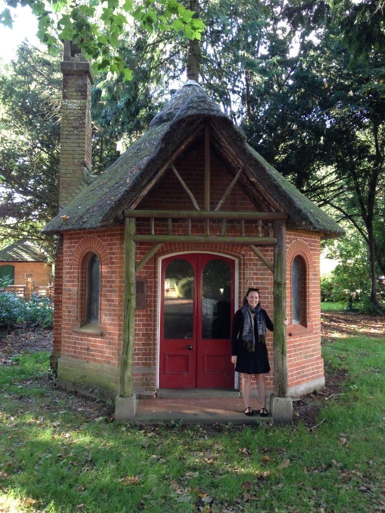 Jenny and the prayer hut