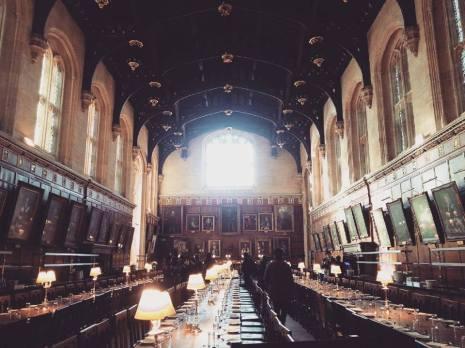 The Great Hall, definitely feeling the Hogwarts vibe