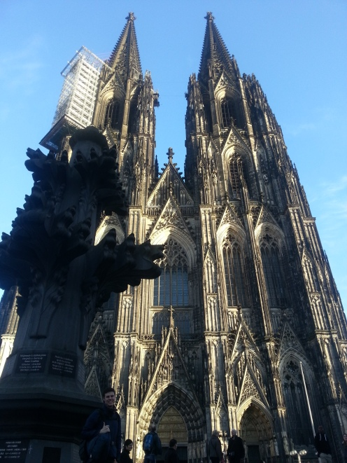 A sense of perspective, this is the same size as the tips of the spires