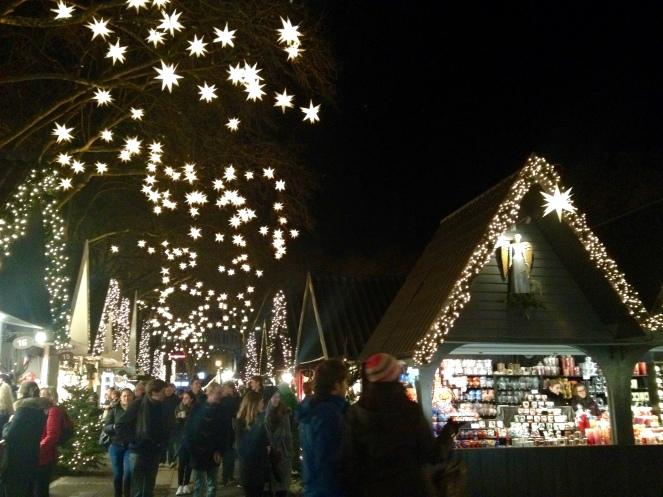 Neumarkt Angel Market at night