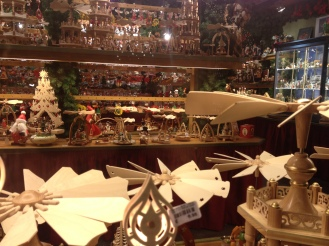 Thousands of handmade wooden ornaments and decorations to be found