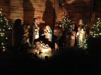 Nativity Scene at the Neumarkt Angel Market