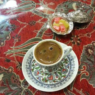 Not a big fan of turkish coffee