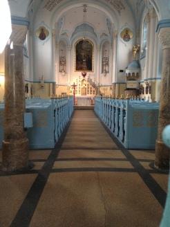 The Blue Church Interior
