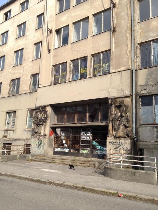 A creepy abandoned hospital