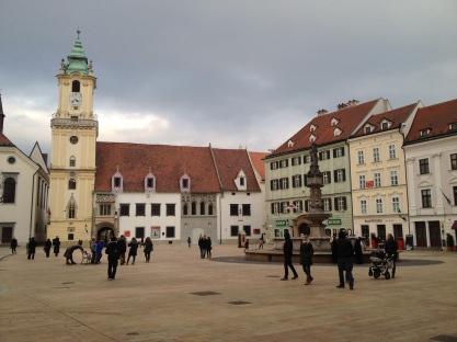 The Old Town Square