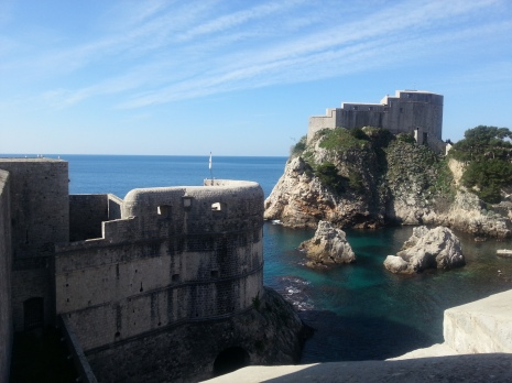 A Pirates of the Caribbean feel to it, Dubrovnik