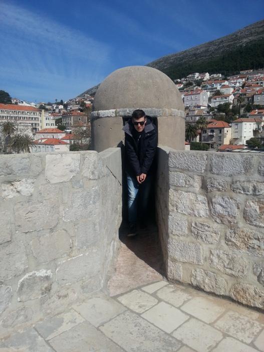 Bit of a squeeze, Dubrovnik