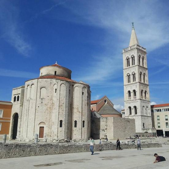 View from Roman Forum, Zadar