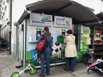 Milk Vending Machine, Ljubljana