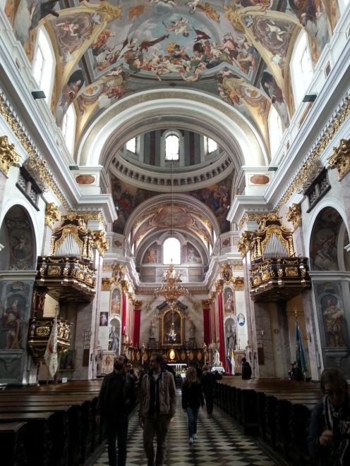 Beautiful Cathedral, Ljubljana