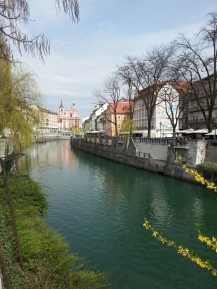 River Scenes, Ljubljana