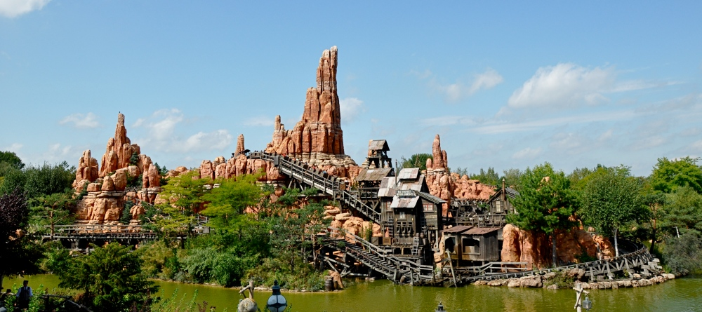Big Thunder Mountain, Disneyland Park, France