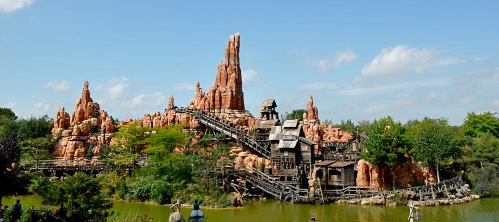 Big Thunder Mountain, Disneyland Park, France