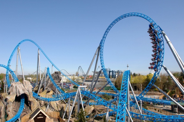 Blue Fire, Europa Park, Germany