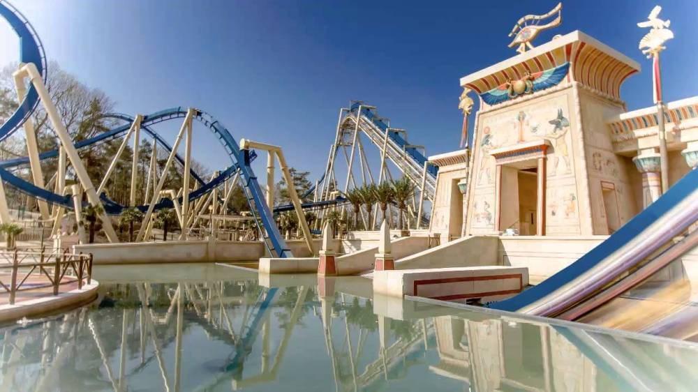 Oziris, Parc Asterix, France